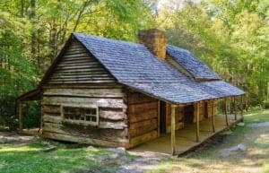 noah bud ogle cabin in the smoky mountains
